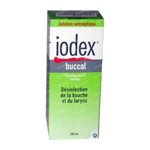 Iodex Mondwater 200 ml
