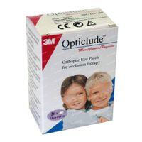 3M Opticlude Oogpleister Junior 6,3cm X 4,8cm 153720 20 st