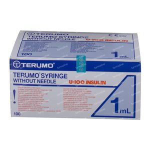 Terumo Disposable Syringe 1Ml Without Needle Ins BS-01H 100 pieces