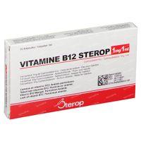 Vitamine B12 1mg 10 ml ampoules