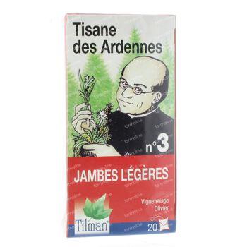 Tisane Arden. Nr. 3  Jambes légères 20 sachets