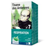 Kruidenthee uit de Ardennen® n°7 Ademhaling 20  zakjes