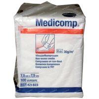 Hartmann Medicomp Compresse 4 Plis 7.5 x 7.5cm 421823 100 st