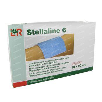 Stellaline 6 Pansement Stérile 10,0X20,0cm 5 pièces