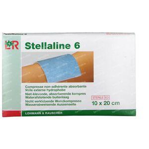 Stellaline 6 Steriel Kompres 10,0X20,0cm 5 stuks