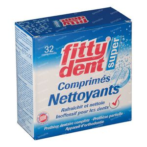 Fittydent Cleanser 32 tablets