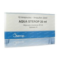 Water voor injecties 200 ml ampoules