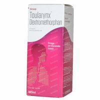 Toularynx Dextromethorphan Droge Hoest 180 ml siroop
