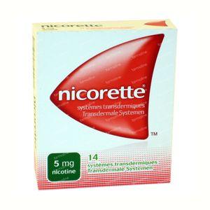 Nicorette 5mg 14 patch