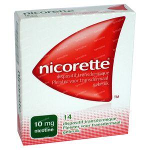 Nicorette 10mg 14 patch