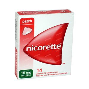 Nicorette 15mg 14 patch