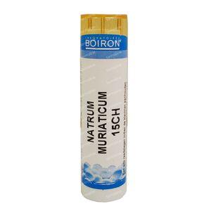 Boiron Natrium Muriaticum 15Ch Granulen 1 stuk