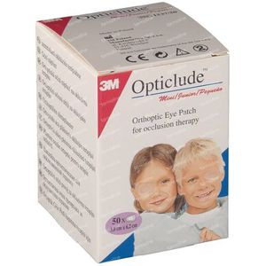 3M Opticlude Pansement Orthoptique Junior 6,3cm X 4,8cm 153750 50 pièces