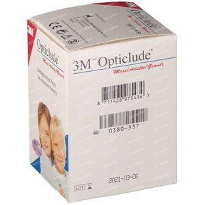 3M Opticlude Eye Patch 50 pieces