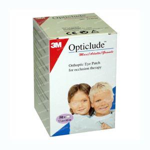 3M Opticlude Oogpleister Senior 82mm x 57mm 50 St