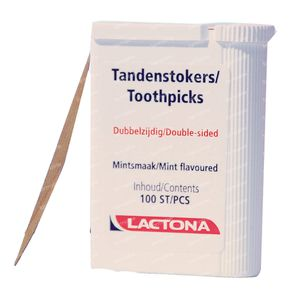 Lactona Toothpicks 100 pieces