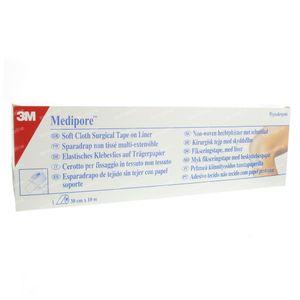 3M Medipore Zachte Chirurgische Hechtpleister 10 x 30cm 2991/5 1 St