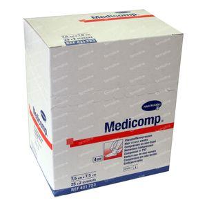 Hartmann Medicomp Steriel Kompres 4 Lagen 7.5 x 7.5cm 421723 50 St