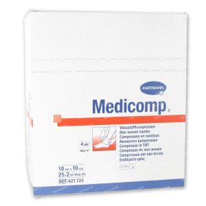 Hartmann Medicomp Steriel Kompres 4 Lagen 10 x 10cm 421725 50 St
