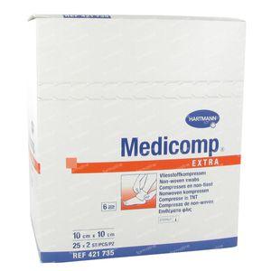 Hartmann Medicomp Steriel Kompres 6 Lagen 10 x 10cm 421735 50 St