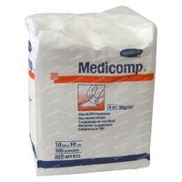 Hartmann Medicomp Compresse 4 Plis 10 x 10cm 421825 100 st