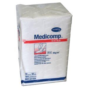Hartmann Medicomp Compres 6 Layers 10 x 10cm 421835 100 pieces