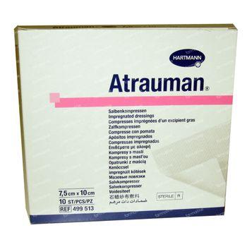 Hartmann Atrauman Stérile 7.5 x 10cm 499513 10 pièces