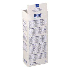 EUBOS Gel Lavant Liquide (Bleu) 200 ml