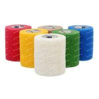 3M Coban Bandage Elastique Rainbow Colours 7,5cmx4,57m 12 pièces