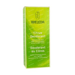 Weleda Déodorant au Citrus 100 ml