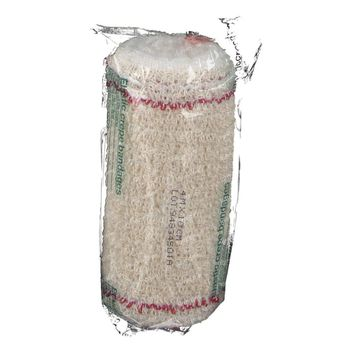 Zeno Bandage De Crêpe 418 10Cmx4M + Filet Rouge 1 st