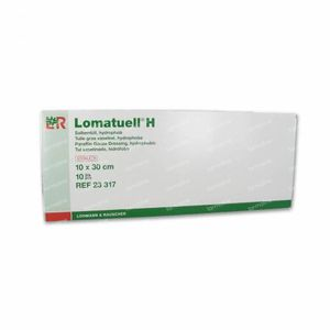 Lomatuell H Sterile Dressings 10x30 cm 10 pieces