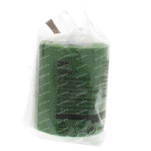 3M Coban Zelfhechtende Windel 7.5cm x 4,5m 1583 Groen 1 stuk