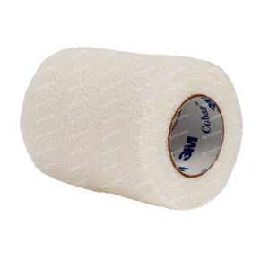 3M Coban Bandage Elastique Blanc 10cmx4,57m 1 pièce