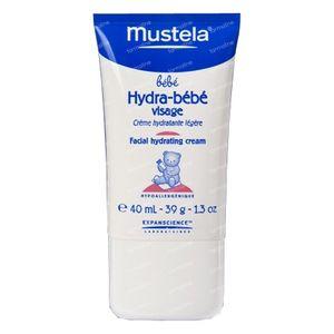 Mustela Hypoallergeen Gelaat 40 ml crème