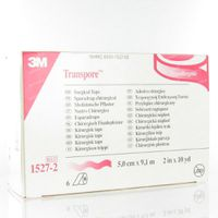 Image of 3M Transpore Surgical Tape 5cm x 9,15m 1527-2 6 st