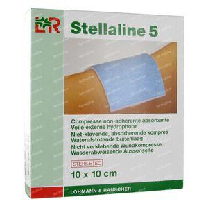 Stellaline 5 Steriel Kompres 10,0X10,0cm 10