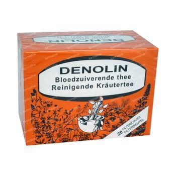Denolin Bloedzuiverende Thee 20 zakjes