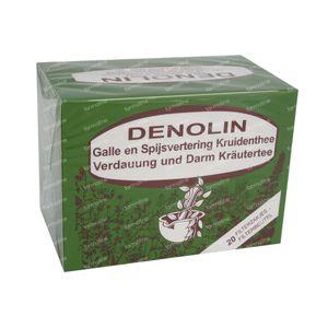 Denolin Thé Antibiliaire 20 sachets