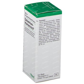 Heel Gelsemium Homaccord Gouttes 30 ml