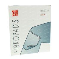 Fibropad 5 Steriel N/ADH 10cm x 10cm 10  kompressen