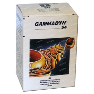 Unda Gammadyn SE 30 stuks Ampoules