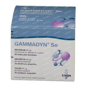 Unda Gammadyn SE 30 ampoules