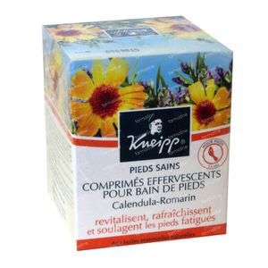 Kneipp Comprimés effervescents pour bain de pieds 6 comprimés effervescents
