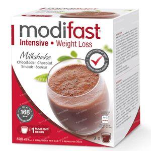 Modifast Intensive Milkshake Chocolat 9x47 g sachets