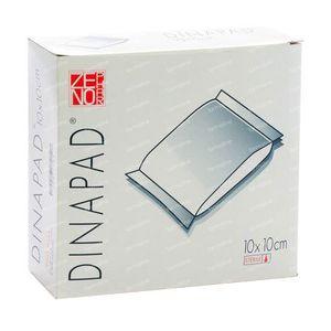 Dinapad 10X10Cm Compress Sterile N/Adh 10 pieces