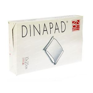 Dinapad 10X20Cm Compress Sterile N/Adh 5 pieces