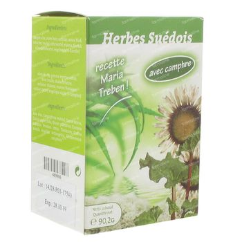 Pharmaflore Herbes Suédoises + Camphre* 90,20 g