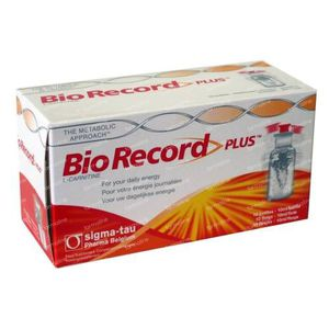 Bio Record Plus 10 St flacons