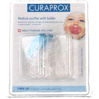 Curaprox® Cmph 201 Medische Fopspeen vanaf 7 Maanden + Houder 2 stuks